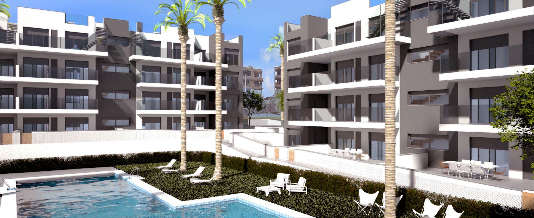 New Build 2 Bedrooms Apartments For Sale in Villamartín