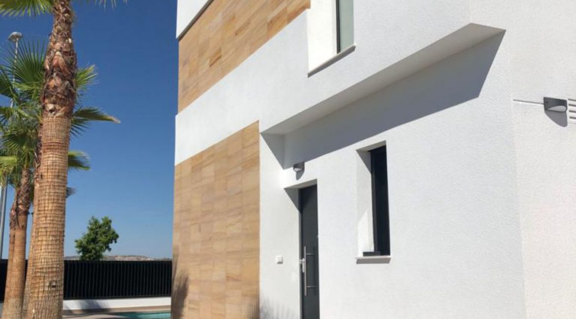 New Build Independent 3 Bedrooms Villas With Private Swimming Pool In Benijofar (9)