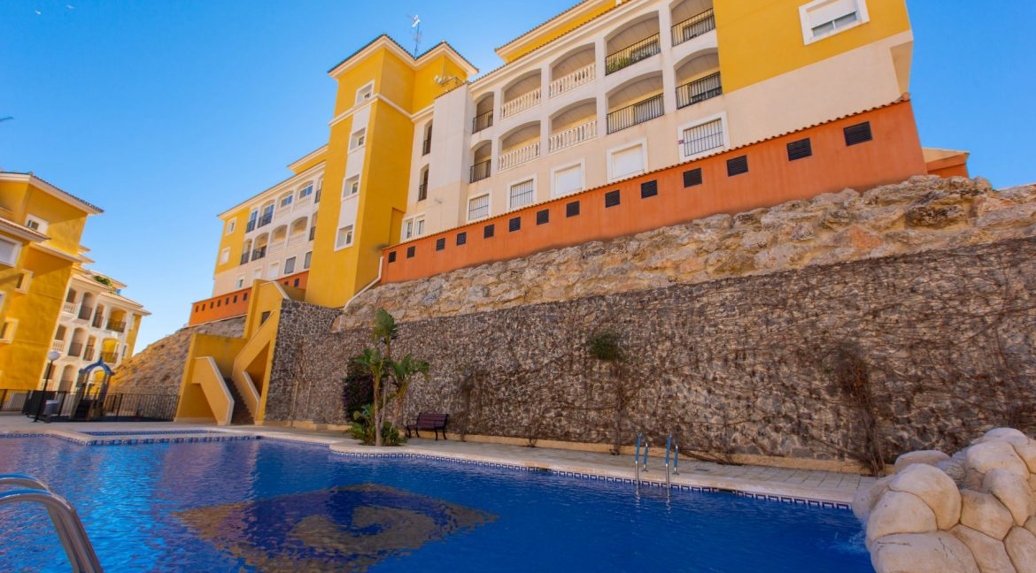 2 Bedrooms Townhouse For Sale With Sea View In Villamartin (12)