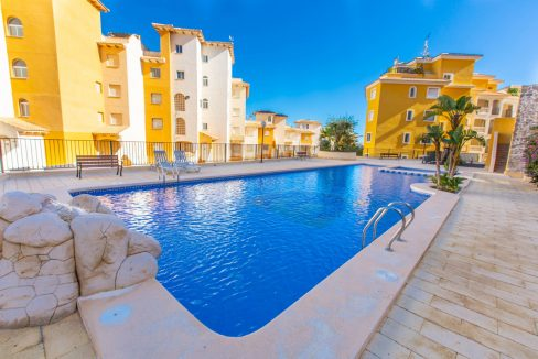 2 Bedrooms Townhouse For Sale With Sea View In Villamartin