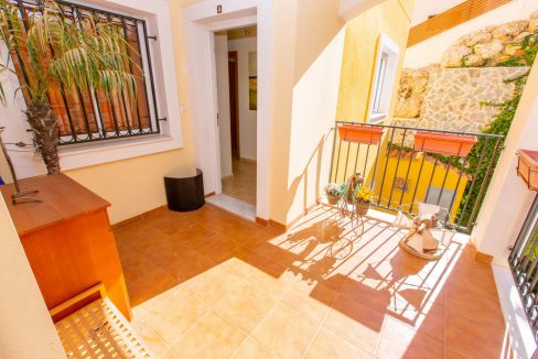 2 Bedrooms Townhouse For Sale With Sea View In Villamartin (4)