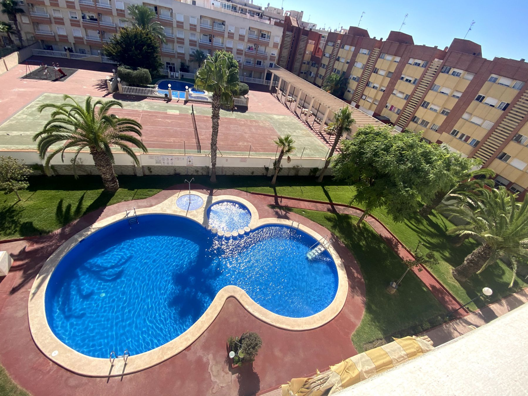 Sunny One Bedroom Penthouse For Sale In Torrevieja With Swimming Pool