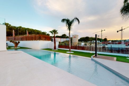 Luxury 3 or 4 Bedrooms Villas with Basement and Saltwater Pool in Las Colinas Golf