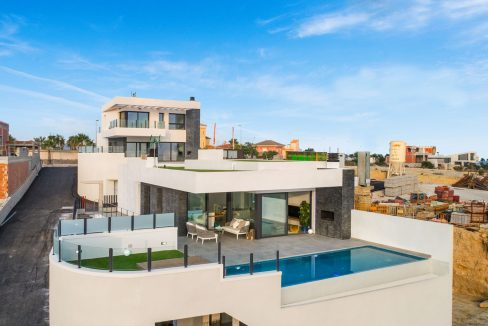 New Build Exclusive Villas With Panoramic Views Of The Valley And The Sea In Ciudad Quesada (18)