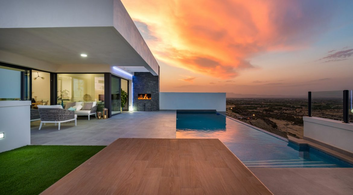New Build Exclusive Villas With Panoramic Views Of The Valley And The Sea In Ciudad Quesada (23)