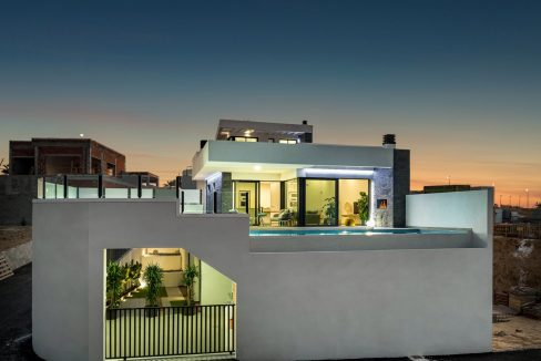 New Build Exclusive Villas With Panoramic Views Of The Valley And The Sea In Ciudad Quesada (27)