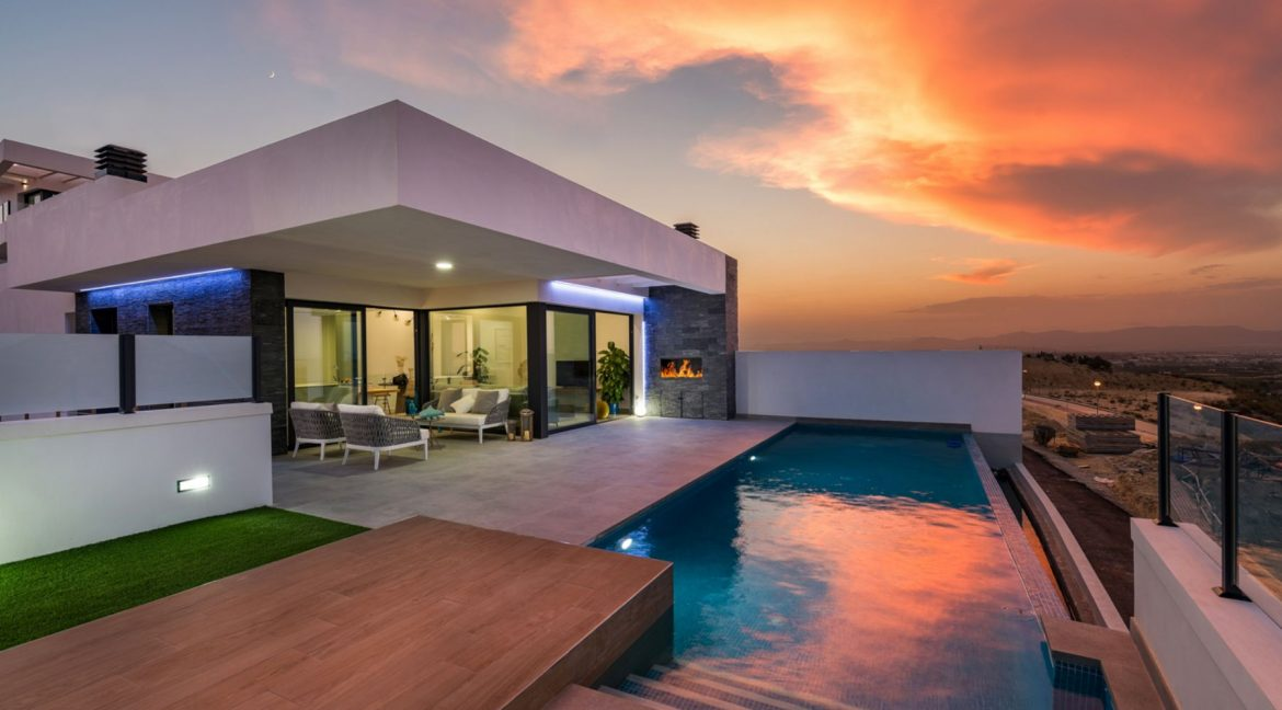 New Build Exclusive Villas With Panoramic Views Of The Valley And The Sea In Ciudad Quesada (28)
