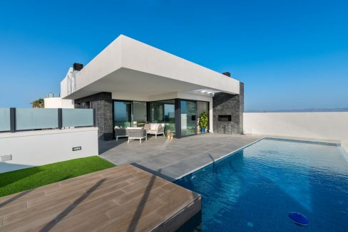 New Build Exclusive Villas With Panoramic Views Of The Valley And The Sea In Ciudad Quesada (32)