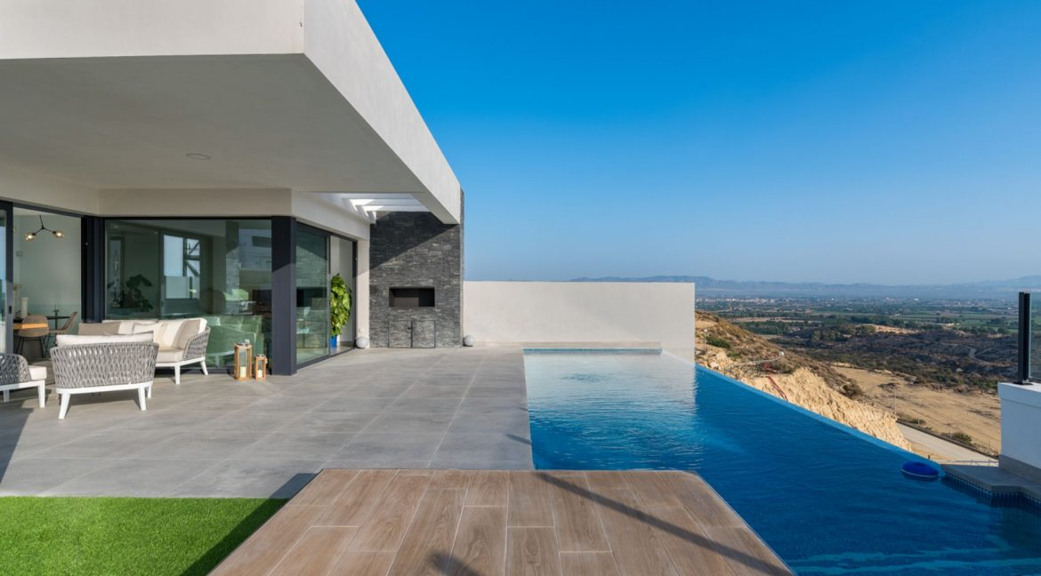 New Build Exclusive Villas With Panoramic Views Of The Valley And The Sea In Ciudad Quesada (33)