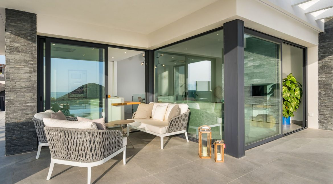 New Build Exclusive Villas With Panoramic Views Of The Valley And The Sea In Ciudad Quesada (5)