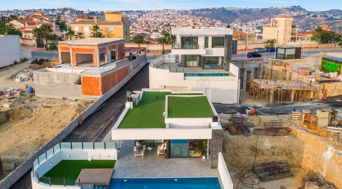 New Build Exclusive Villas With Panoramic Views Of The Valley And The Sea In Ciudad Quesada (9)