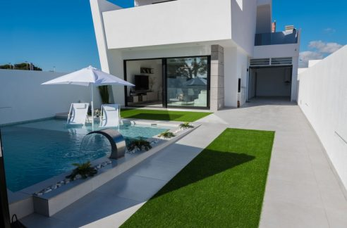 New Build Villa With 3 Bedrooms And Private Pool In San Javier