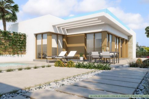 New Build Independence Villa with 3 Bedrooms in Vistabella Golf (1)