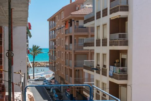2 Double Bedrooms Apartment For Sale with Sea Views in Torrevieja