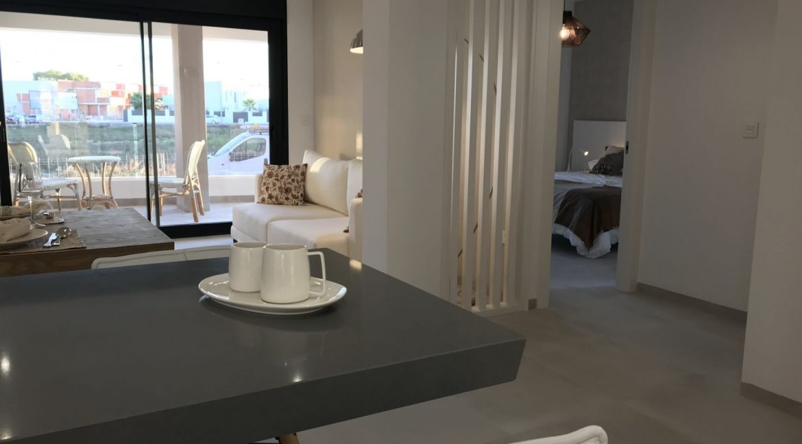 New Build Modern 2 Bedrooms Apartments with Garden or Solarium in San Javier