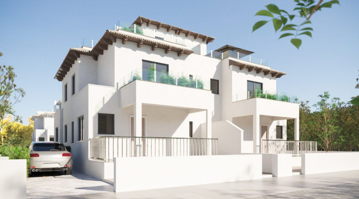 New Build 2 Bedrooms Duplex Located Just 600 Meters from the Beach in La Marina (1)