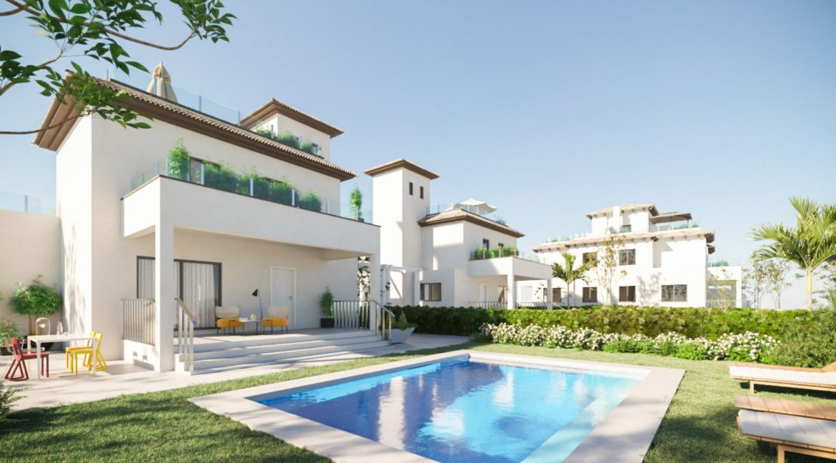 New Build 2 Bedrooms Duplex Located Just 600 Meters from the Beach in La Marina (4)