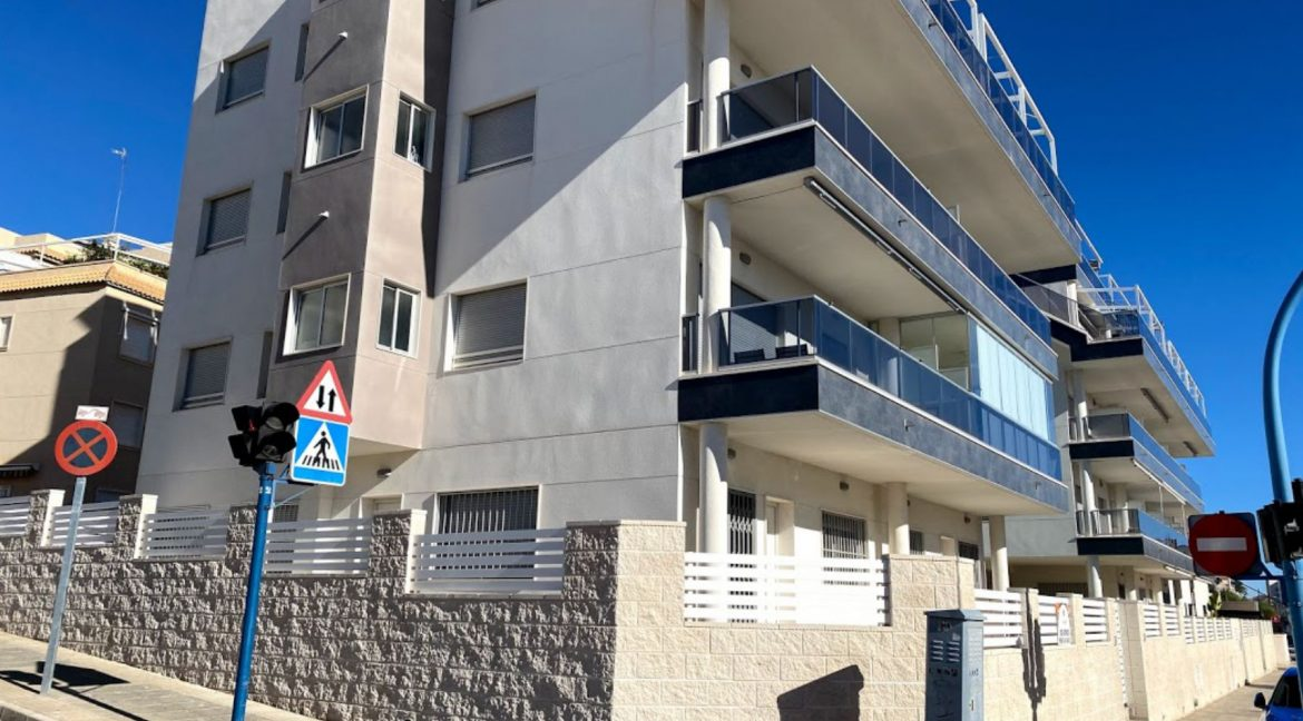 New Build Ground Floor 3 Bedrooms Apartment With Sea View In Santa Pola (2)