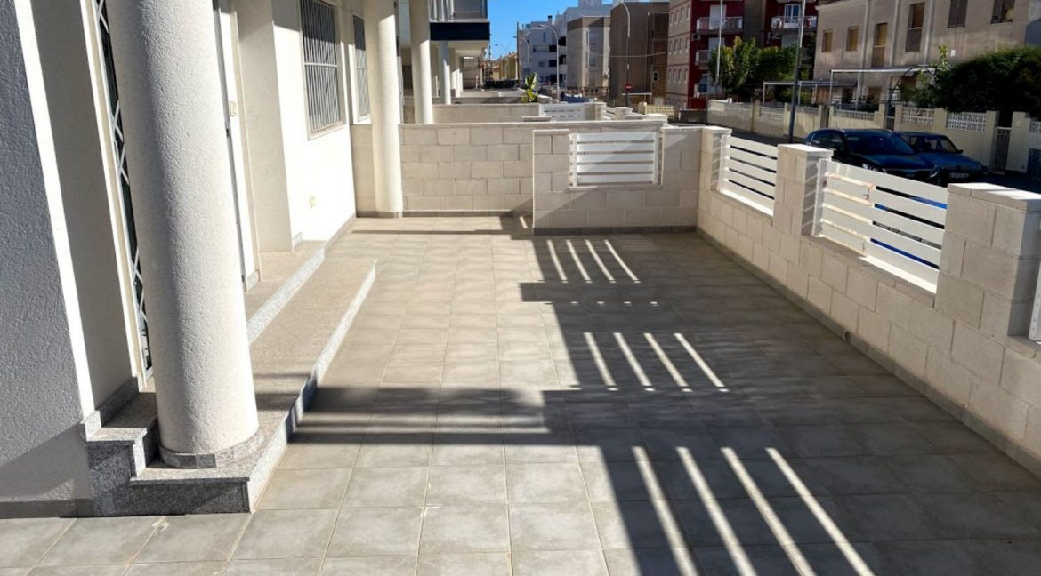New Build Ground Floor 3 Bedrooms Apartment With Sea View In Santa Pola (4)