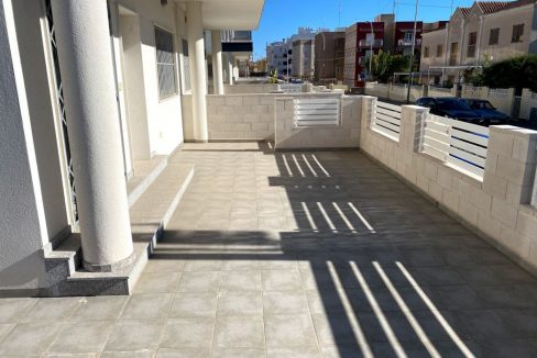 New Build Ground Floor 3 Bedrooms Apartment With Sea View In Santa Pola
