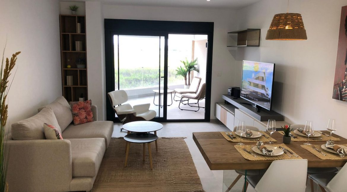 New Build Modern 2 Bedrooms Apartments with Garden or Solarium in San Javier (7)