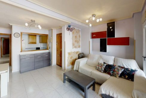 2 Bedrooms Penthouse For Sale with Large Terrace in Torrevieja