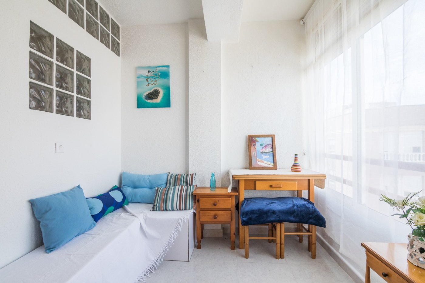 Bright Studio with a Bedroom For Sale in Torrevieja Center