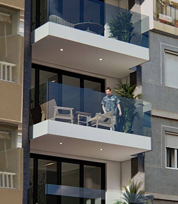 New Build 2 Bedrooms Apartments For Sale in Torrevieja - 300 m from Playa del Cura (2)