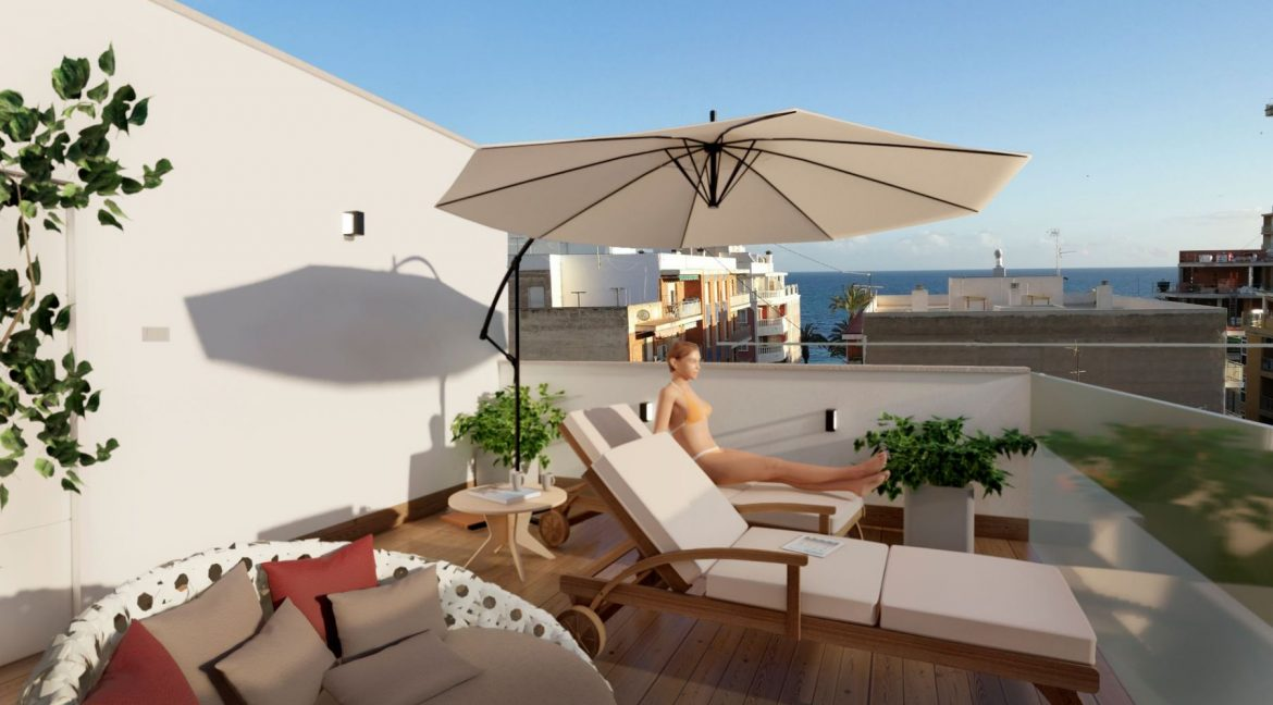 New Build 2 Bedrooms Apartments For Sale in Torrevieja - 300 m from Playa del Cura (3)