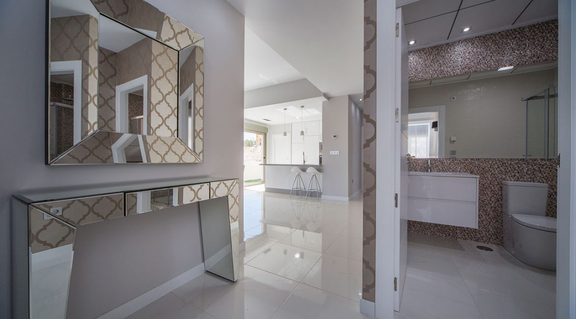 New Build 3 Bedrooms Villas with Swimming Pool For Sale in Orihuela Costa (10)