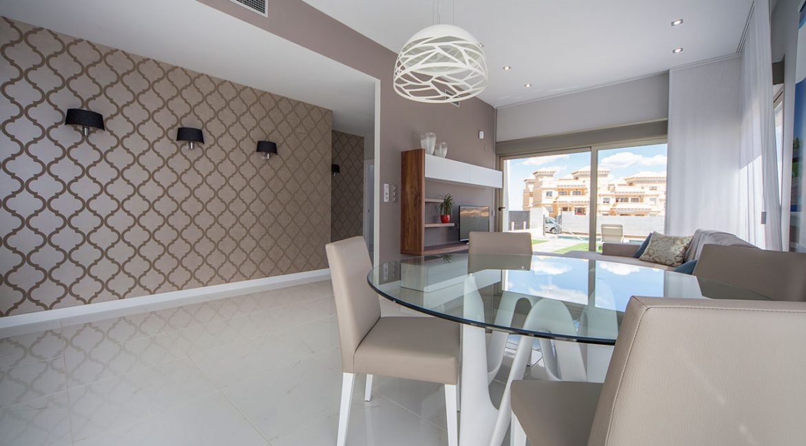 New Build 3 Bedrooms Villas with Swimming Pool For Sale in Orihuela Costa (14)