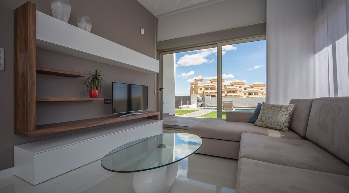 New Build 3 Bedrooms Villas with Swimming Pool For Sale in Orihuela Costa (15)
