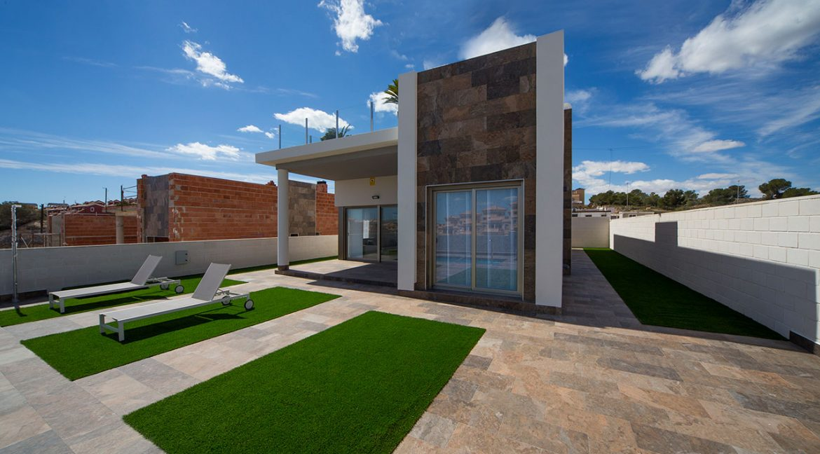 New Build 3 Bedrooms Villas with Swimming Pool For Sale in Orihuela Costa (18)