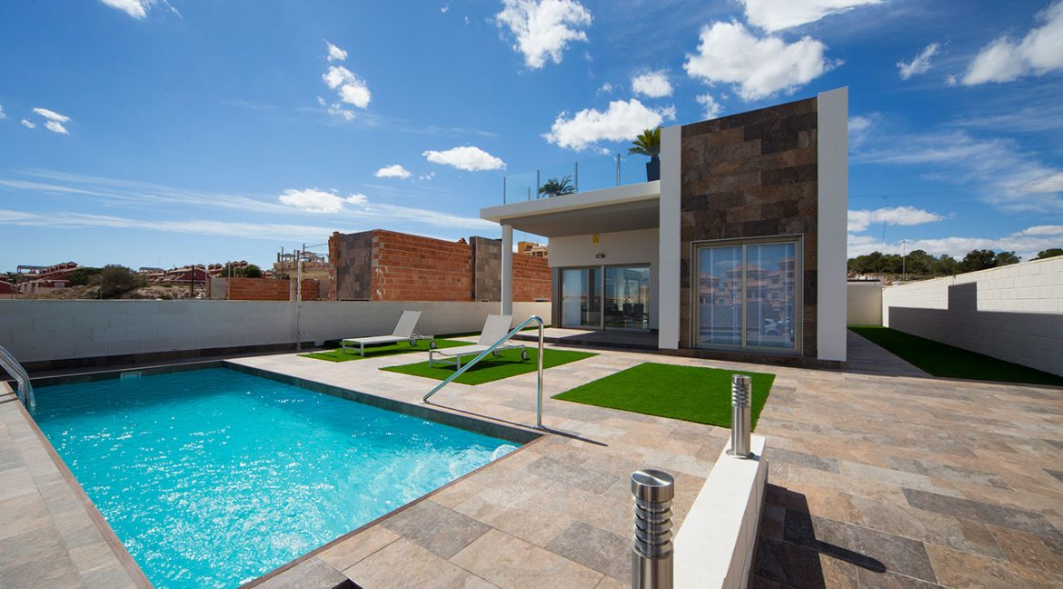New Build 3 Bedrooms Villas with Swimming Pool For Sale in Orihuela Costa (19)