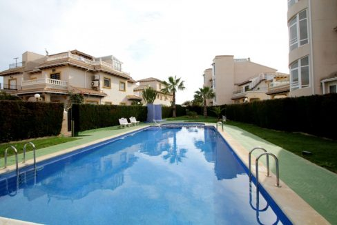 3 Bedrooms Corner Townhouse with Sea Views For Sale in Orihuela Costa (11)