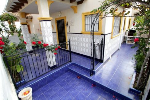 3 Bedrooms Corner Townhouse with Sea Views For Sale in Orihuela Costa (12)