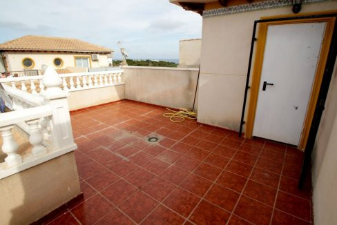 3 Bedrooms Corner Townhouse with Sea Views For Sale in Orihuela Costa (2)