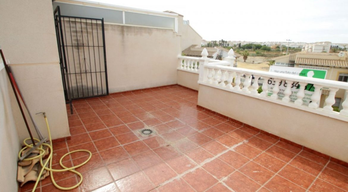 3 Bedrooms Corner Townhouse with Sea Views For Sale in Orihuela Costa (3)