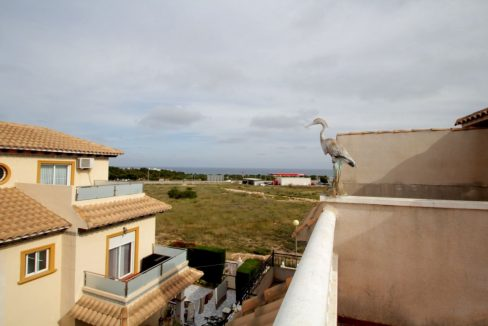 3 Bedrooms Corner Townhouse with Sea Views For Sale in Orihuela Costa (5)