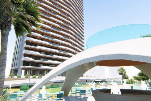 New Build Apartments For Sale in Poniente Beach - Benidorm Beach