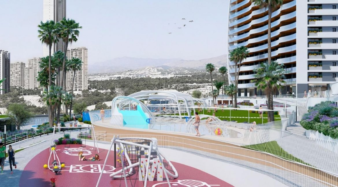 New Build Apartments with Sea Views Just 200 meters from Poniente Beach in Benidorm (14)