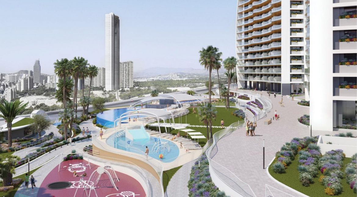 New Build Apartments with Sea Views Just 200 meters from Poniente Beach in Benidorm (15)