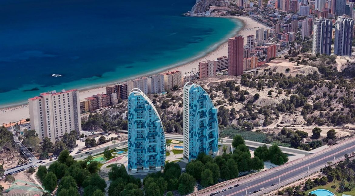 New Build Apartments with Sea Views Just 200 meters from Poniente Beach in Benidorm (16)