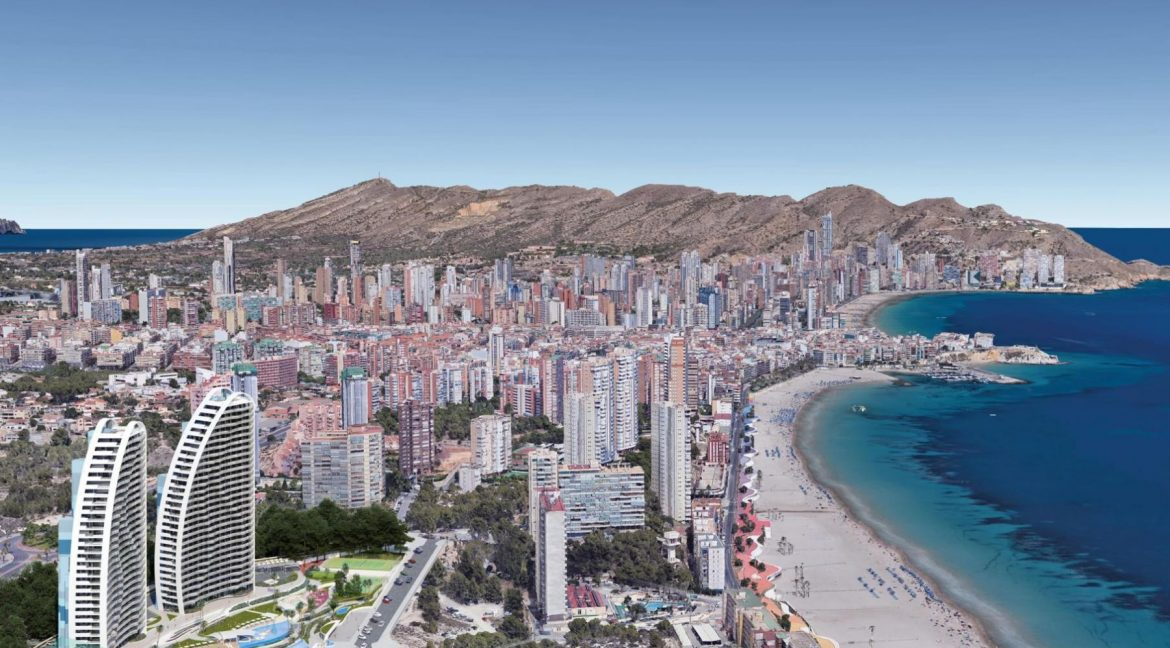New Build Apartments with Sea Views Just 200 meters from Poniente Beach in Benidorm (18)