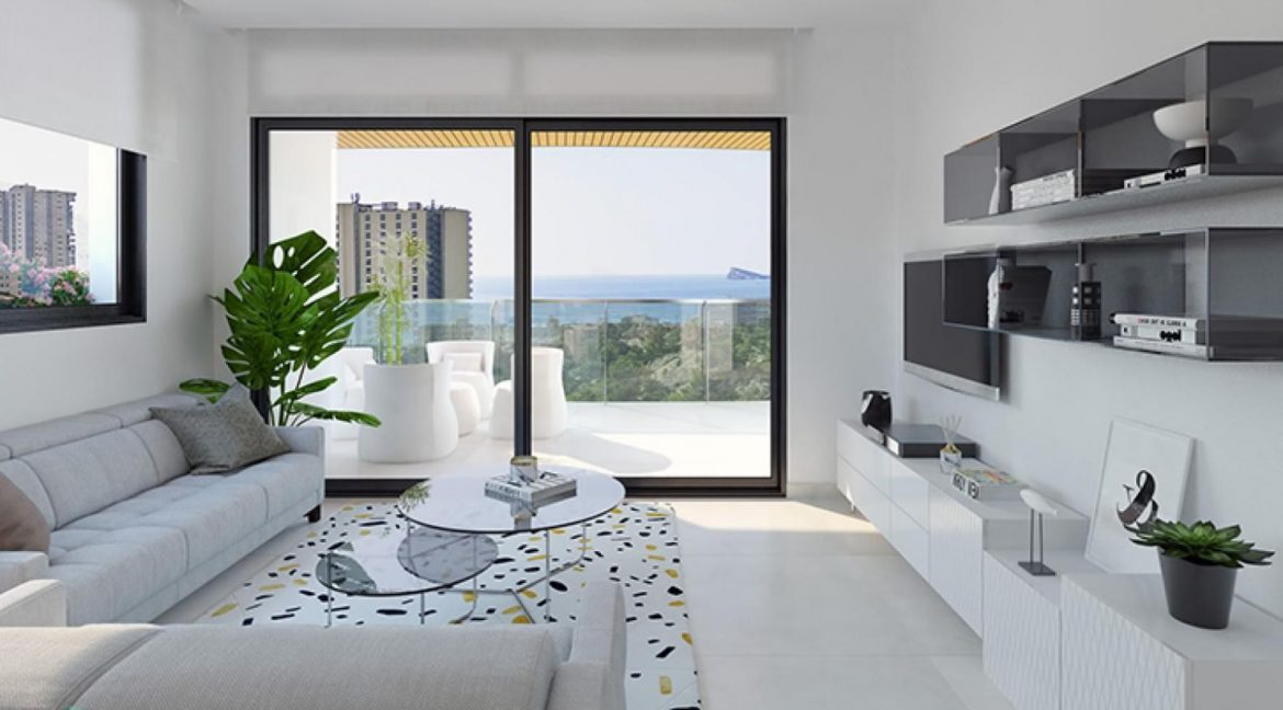New Build Apartments with Sea Views Just 200 meters from Poniente Beach in Benidorm (24)