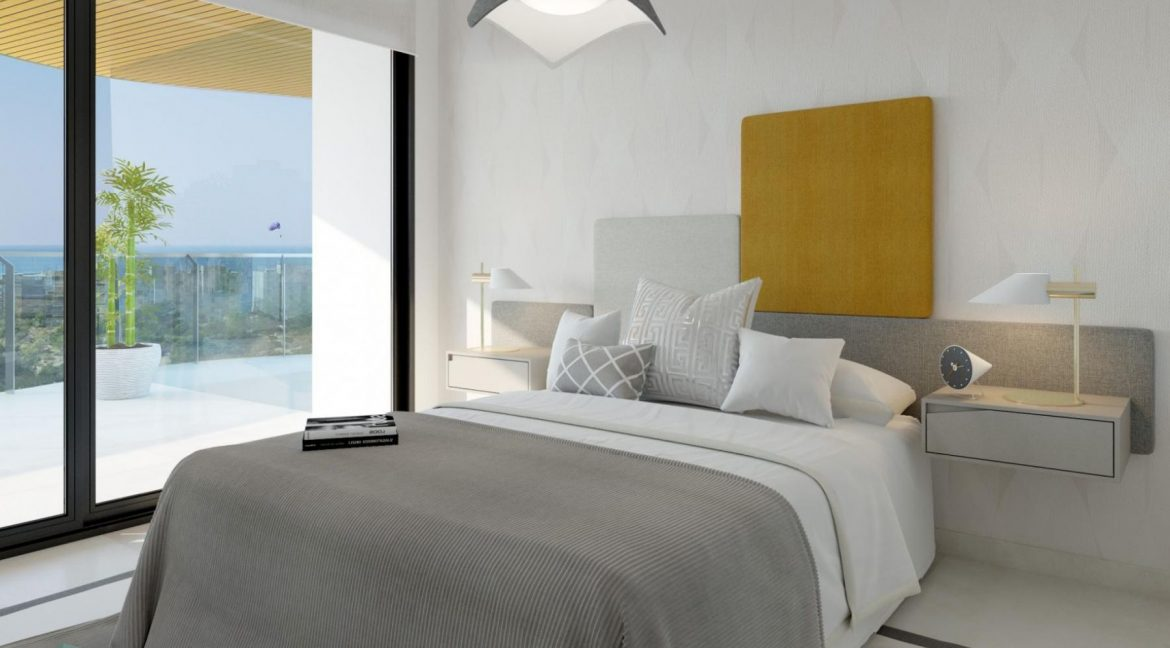 New Build Apartments with Sea Views Just 200 meters from Poniente Beach in Benidorm (25)