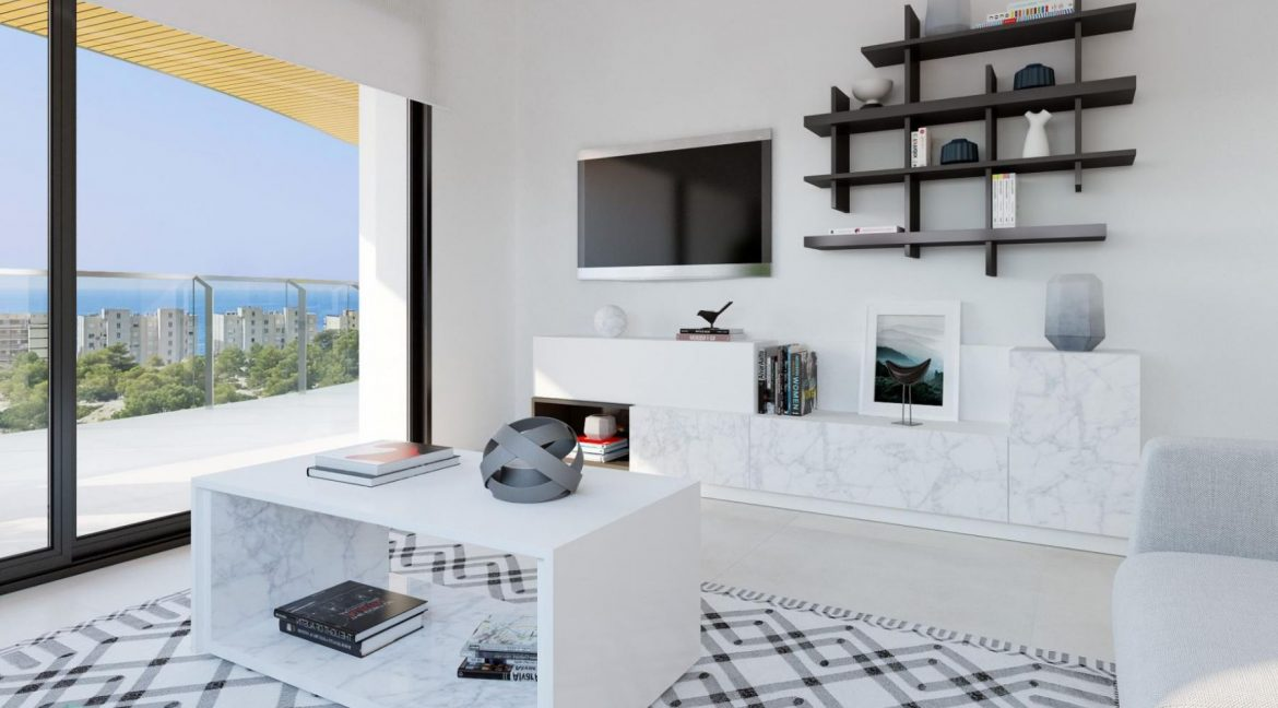 New Build Apartments with Sea Views Just 200 meters from Poniente Beach in Benidorm (28)