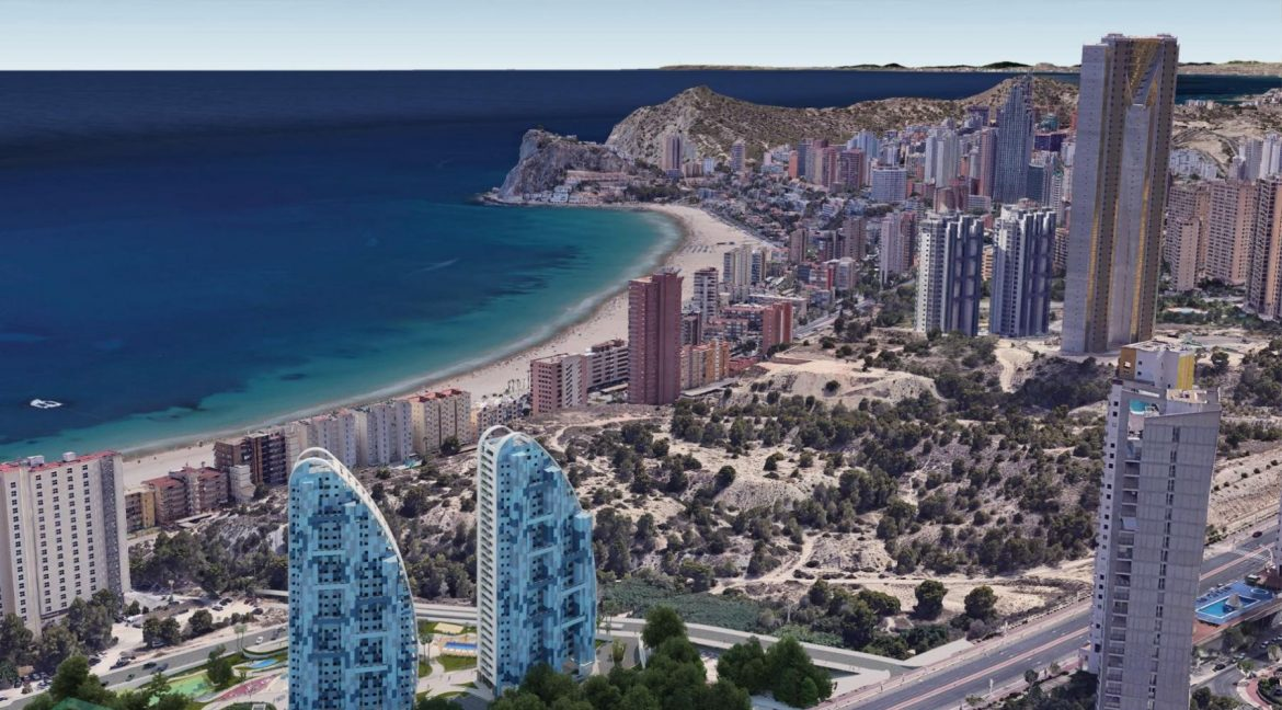 New Build Apartments with Sea Views Just 200 meters from Poniente Beach in Benidorm (29)