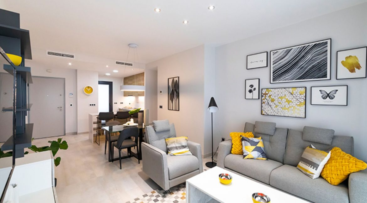New Build Apartments with Sea Views Just 200 meters from Poniente Beach in Benidorm (3)