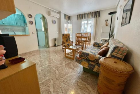 3 Bedrooms Apartment Just 100 Meters from Naufragos Beach For Sale in Torrevieja